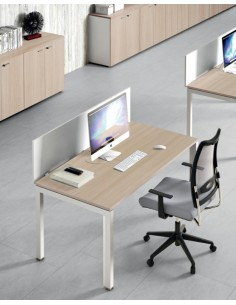 BUREAU SIMPLE A4 Profondeur 80 de chez OFFICE and CO