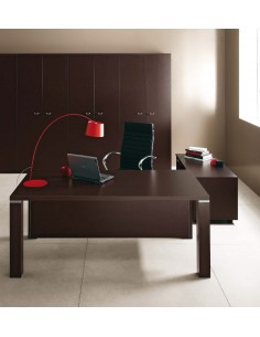 BUREAU DE DIRECTION REX PIED CARRE de chez OFFICE and CO